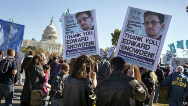 Dugaan penyadapan intelijen AS terungkap setelah Snowden membocorkannya kepada media.