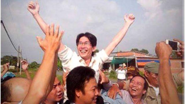 Ông Đinh Nhật Uy bị truy tố theo điều 258 Bộ Luật hình sự nhận án treo