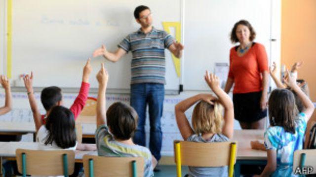 sala de aula | AFP