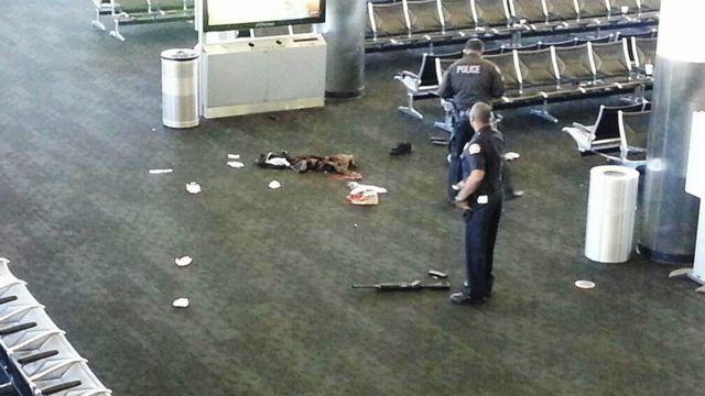 Tiroteo en el aeropuerto de LA