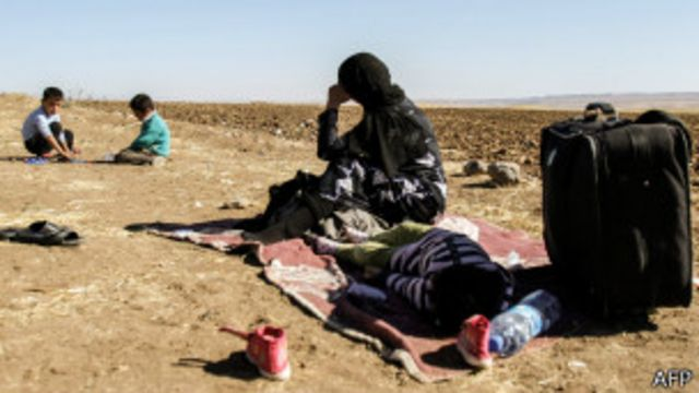 بیش از دو میلیون و ۶۰۰ هزار نفر از مردم سوریه، آواره کشورهای همسایه شدهاند