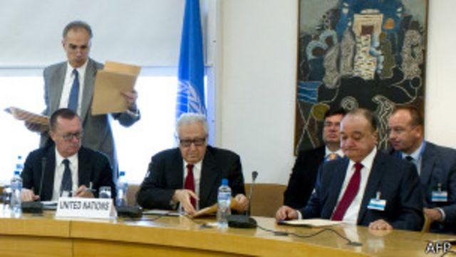 نماینده سازمان ملل در هفتههای گذشته تلاش نفسگیری برای برگزاری نشست صلح سوریه کرده است