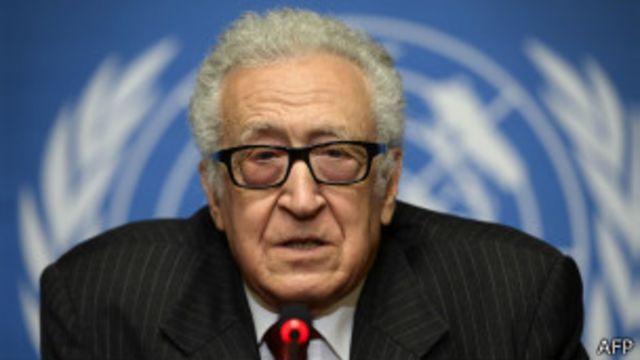 آقای ابراهیمی پیشتر گفته بود کنفرانس صلح سوریه بدون حضور مخالفان به نتیجه نمیرسد
