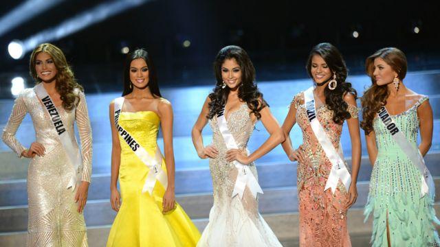 ووصل الى المرحلة ما قبل النهائية 5 متسابقات هن ملكات جمال الاكوادور والبرازيل وإسبانيا والفليبين، وفنزويلا.