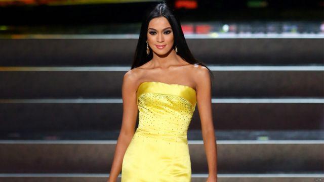 ملكة جمال الفلبين كانت من بين المتنافسات.