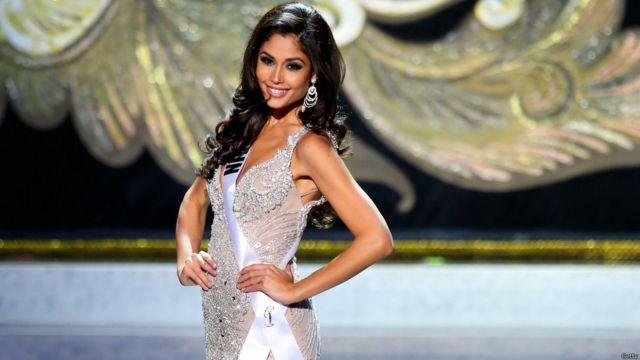 وحلت باترشيا رودريجز، ملكة جمال إسبانيا وصيفة أولى.