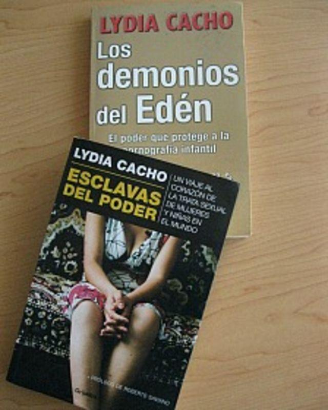 Lydia Cacho se ha especializado en el tema de trata de mujeres y pederastia.
