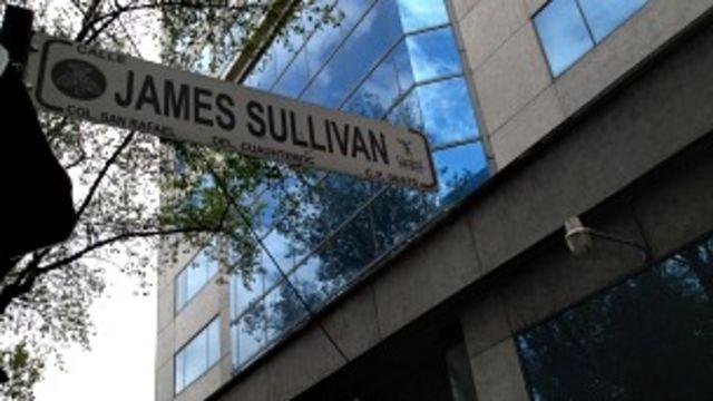Sullivan es una zona de oficinas. En la calle queda el tribunal superior de Ciudad de México.