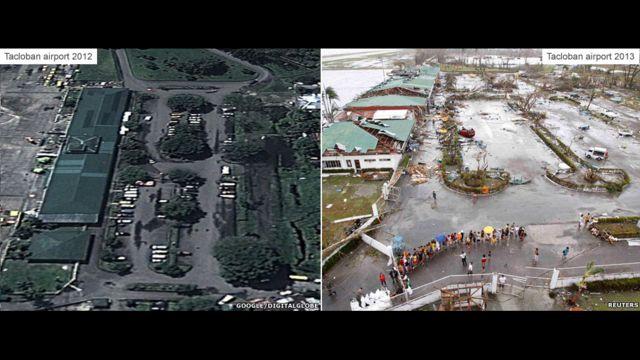 Jiya da yau - Filin saukar jiragen sama na Tacloban