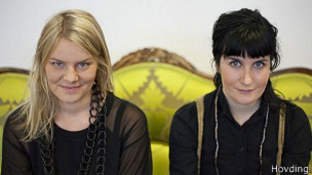 Anna Haupt y Terese Alstin
