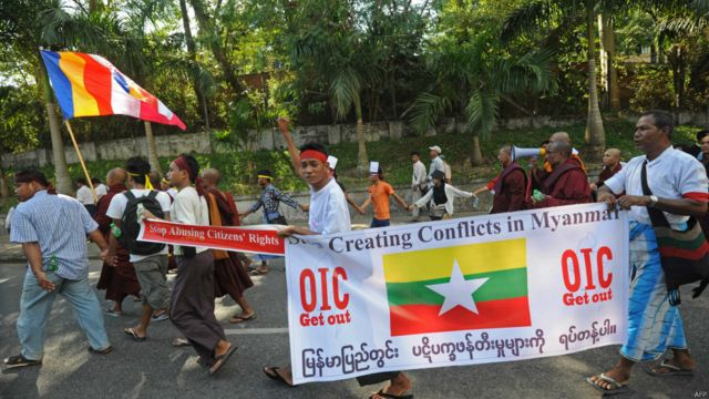 Unjuk rasa Yangon