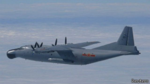 中國偵察機