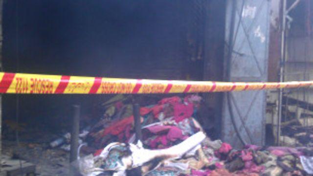 پنڈی کے راجہ بازار کی مدینہ مارکیٹ میں بہت سے تاجروں کو نقصان ہوا