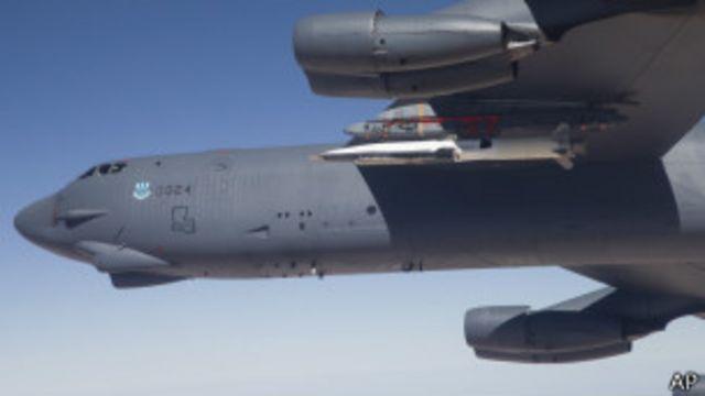 美國B-52轟炸機(資料圖片)