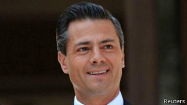 PEña Nieto presidente de México