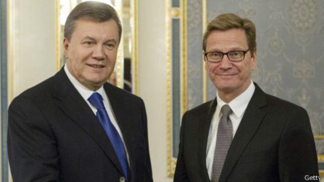 Янукович и Вестревелле