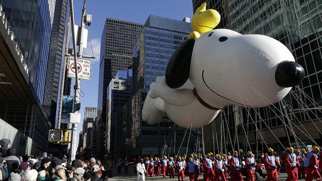Festejos de Día de Acción de Gracias en EE.UU.