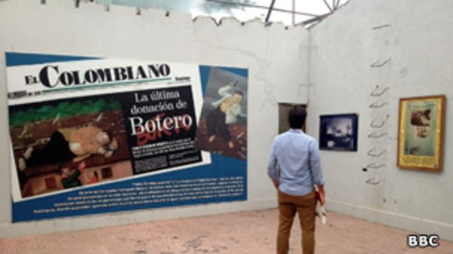 Museo de las víctimas de Escobar en la Hacienda Nápoles