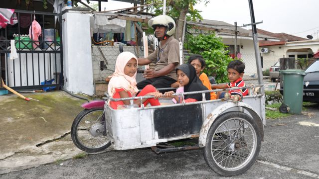 Keluarga Rohingya di Cheras Baru
