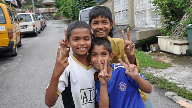 Anak-anak di Cheras Baru