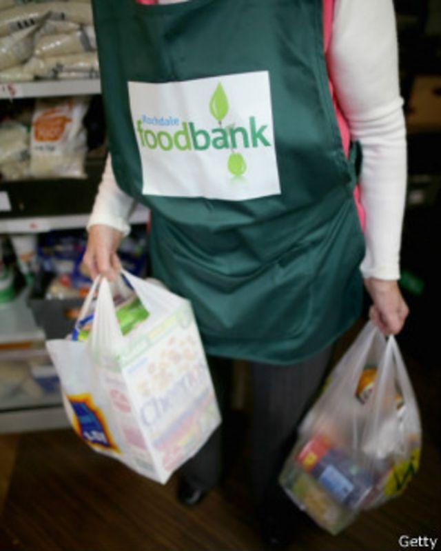 سال گذشته 'تعداد دریافت کنندگان کمک غذایی سه برابر شد'