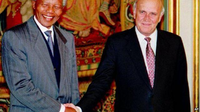 Mandela receives Nobel Prize
