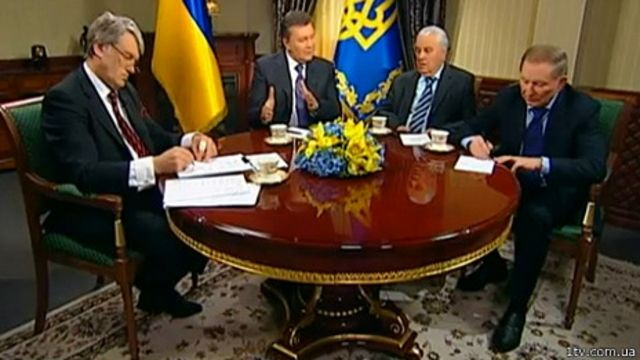 Зустріч президентів