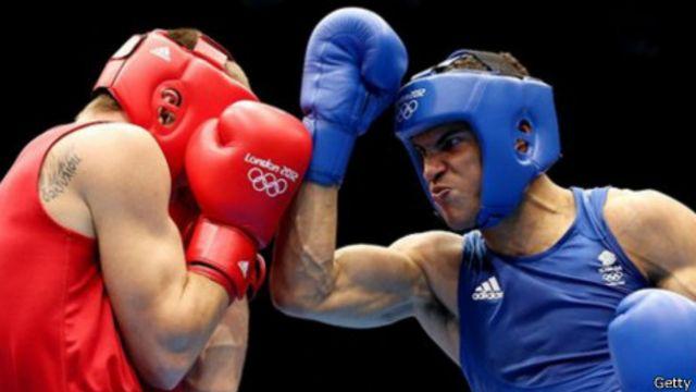 Competición de boxeo