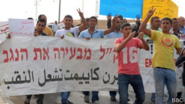 Протест бедуинов