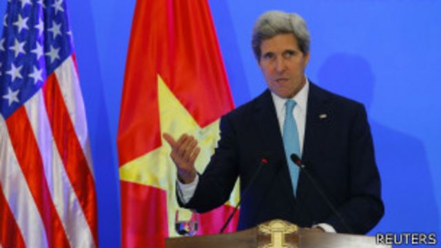 Ông Phạm Chí Dũng nói chuyến thăm của John Kerry sẽ 'không có ảnh hưởng' đến bản án Trương Duy Nhất