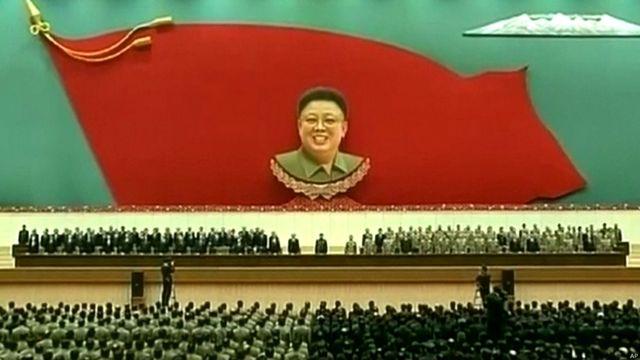 朝鲜纪念金正日逝世两周年仪式