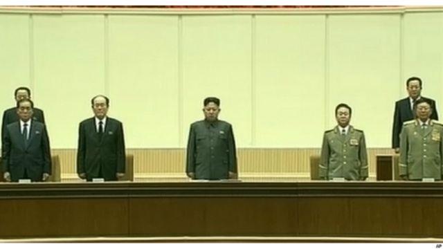朝鲜领导人出席纪念金正日逝世两周年仪式