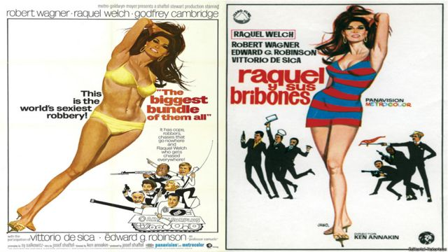 """Afiche de """"Raquel y sus bribones"""". Editorial Notorious"""