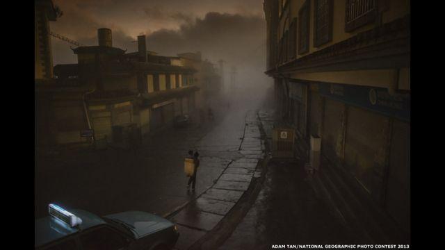 A grande estrada até o raiar do dia, de Adam Tan