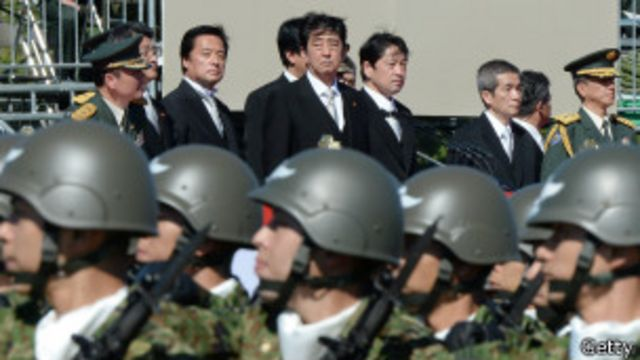 Desfile militar japonés