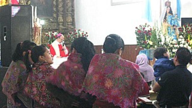 Aunque la traducción oficial sólo fue refrendada hace tres meses, las misas en tzotzil se han celebrado por años.