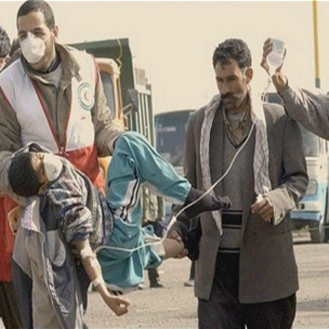 نمایی از فیلم بم، شهر بی دفاع ساخته میترا منصوری