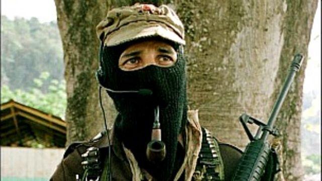 Sucomandante Marcos, foto AP