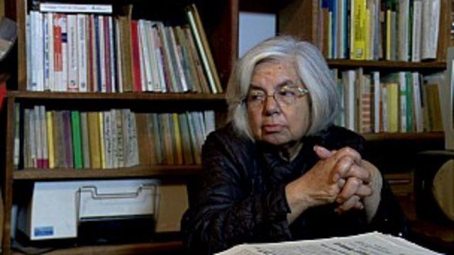La periodista Concepción Villafuerte dice que no ve a Marcos como un héroe romántico