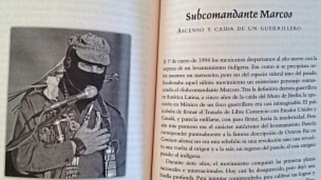 Capítulo sobre Marcos en el libro de Enrique Krause.