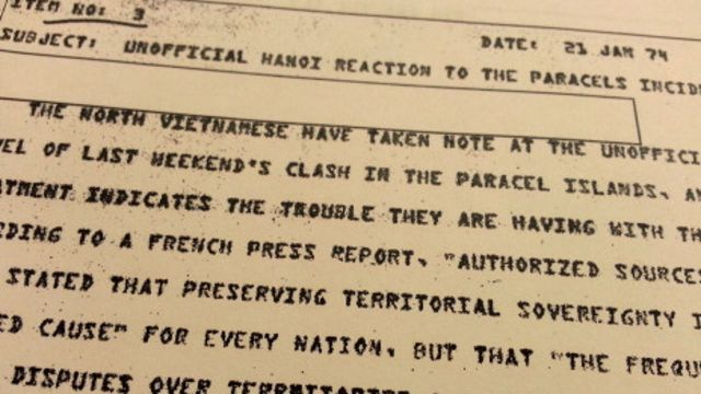 ̣Điện tín của CIA cũng theo dõi phản ứng từ Bắc Việt khi đó