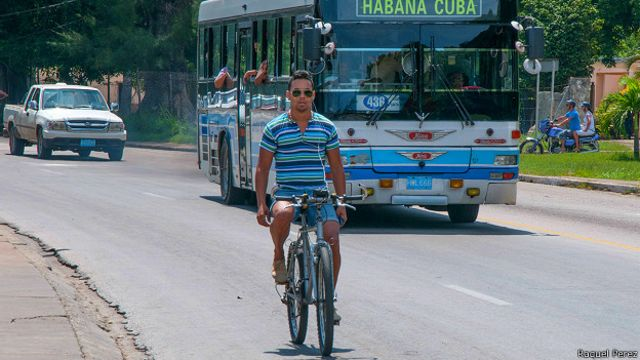 Ciclista cubano