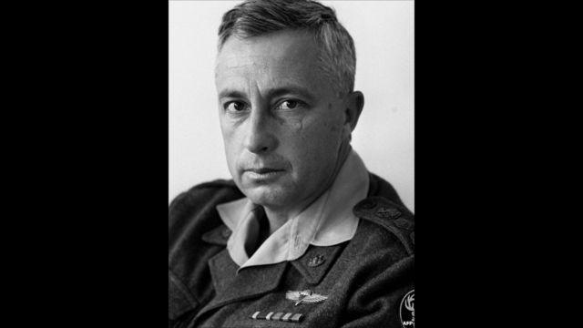 Ariel Sharon muri 1966. AP