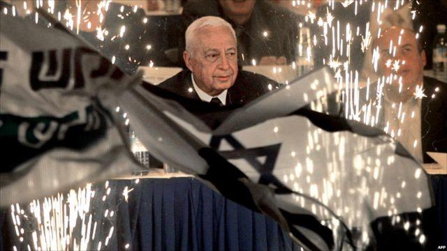 Ariel Sharon, umukuru w'ishyaka rya Likud