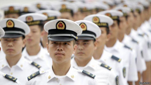 Trong vụ giàn khoan, ít nhiều hải quân Trung Quốc cũng có liên quan