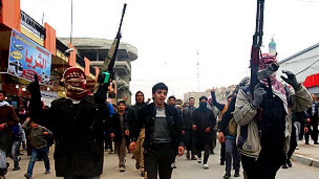 Iraqi na kokarin murkushe masu gwagwarmaya a Fallujah