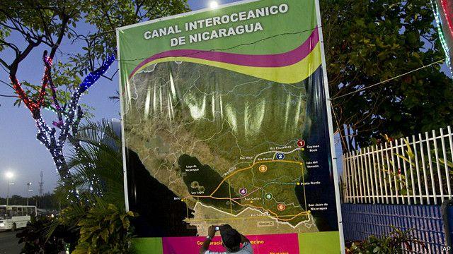 Canal cuja construção deve começar no mês que vem promete ser maior que o Canal do Panamá