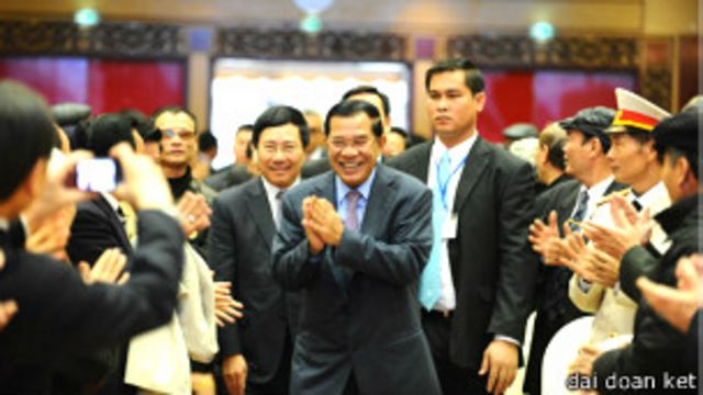 Thủ tướng Campuchia Hunsen