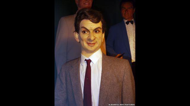 Figura de cera de Mr. Bean, Museo Casa de la Cera Louis Tussauds, Great Yarmouth, Inglaterra