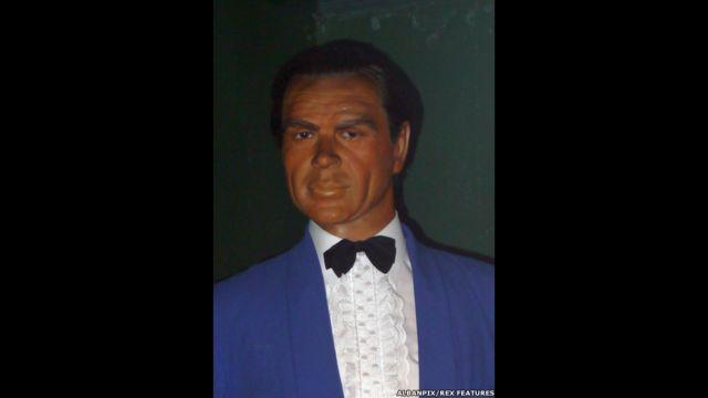 Figura de cera de James Bond, Museo Casa de la Cera Louis Tussauds, Great Yarmouth, Inglaterra